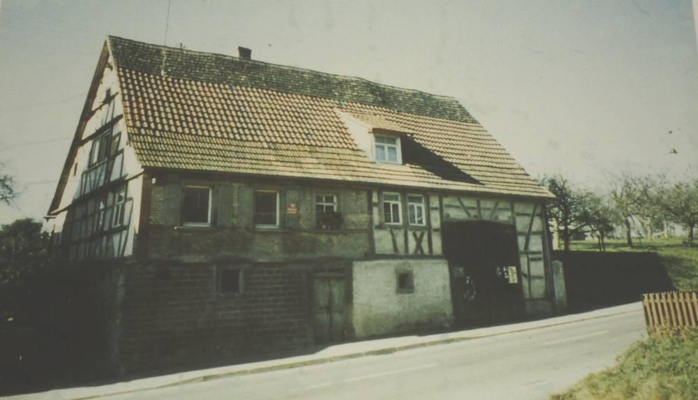 Geburtshaus von Augusta Bender