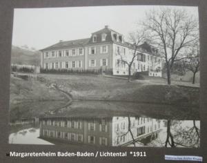 1912 - Mai 1922: Baden-Baden / Lichtental